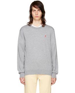 Grey 'ami De Coeur' Sweater