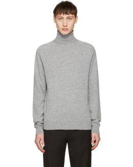 Grey Merino Turtleneck