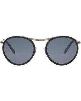 Black Mp-3 30th Sunglasses