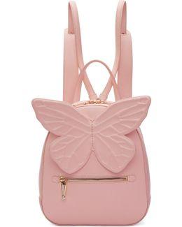 Pink Kiko Butterfly Backpack