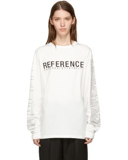 Off-white 'reference' T-shirt