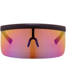 Brown Bernhard Willhelm Edition Daisuke Sunglasses