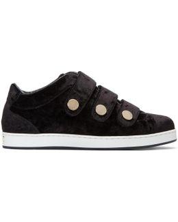 Black Velvet Ny Sneakers