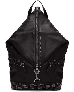 Black Mini Studs Fitzroy Backpack