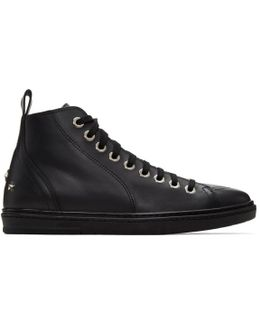 Black Star Colt High-top Sneakers