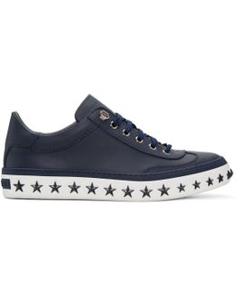Navy Star Sole Ace Sneakers