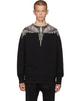 Abstract Print Sweatshirt