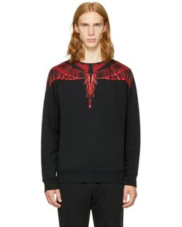 Black Saquin Sweatshirt