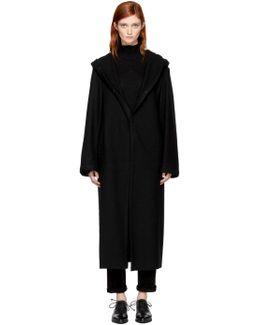 Black Big Wool Coat