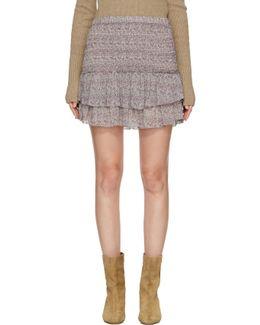 Purple Julia Miniskirt