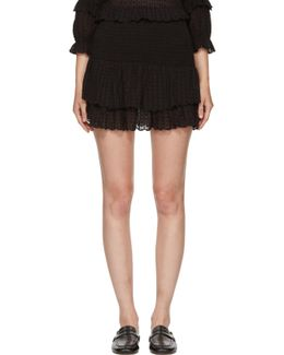Black Yoni Miniskirt