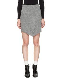 Grey Blithe Miniskirt