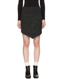 Black Blithe Miniskirt