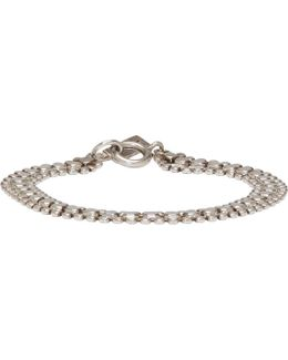 Silver Hunter Multi Chain Bracelet