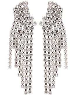 Silver 'a Wild Shore' Chandelier Earrings
