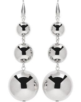 Silver Harvey Multi Sphere Earrings