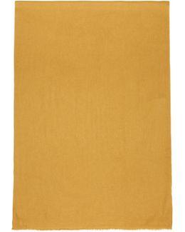 Yellow Ghazila Scarf