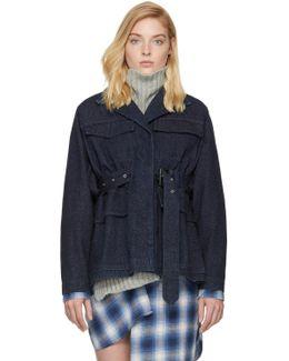 Navy Denim Pleyel Jacket