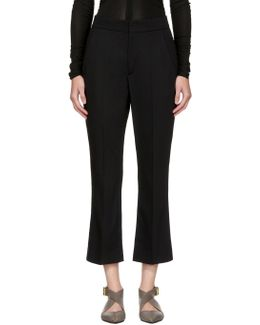 Black Maroan Trousers