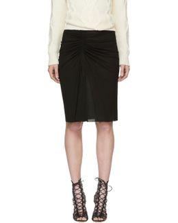 Black Melia Skirt
