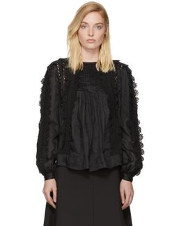 Black Nell Blouse
