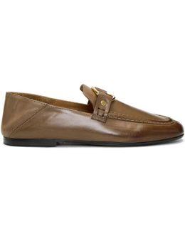 Beige Ferlyn Loafers