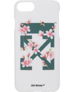 White Cherry Flowers Iphone 7 Case