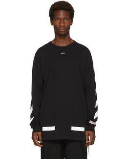 Black Diagonal Arrows T-shirt