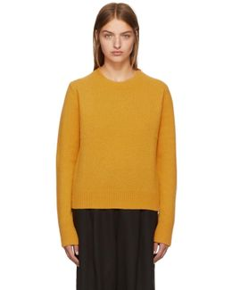 Yellow Wool & Cashmere Sweater