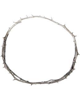 Silver Thorn Choker