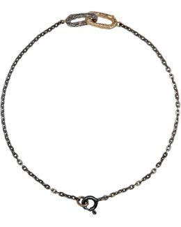 Silver & Gold Double Link Bracelet