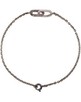 Silver Double Link Bracelet