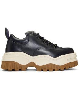 Navy Angel Sneakers