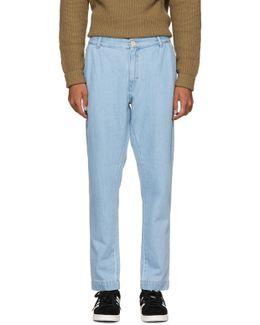 Blue Denim Archives Trousers