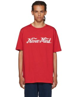Red Unity 'nevermind' T-shirt