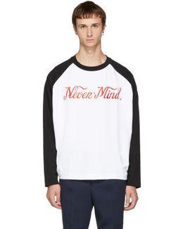 Black & White Desert 'nevermind' T-shirt