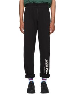 Black '100% Pro' Baggy Lounge Pants