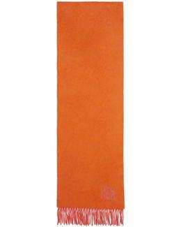 Orange & Pink Anagram Scarf