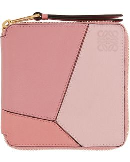 Pink Small Puzzle Wallet