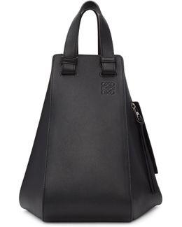 Black Medium Hammock Bag
