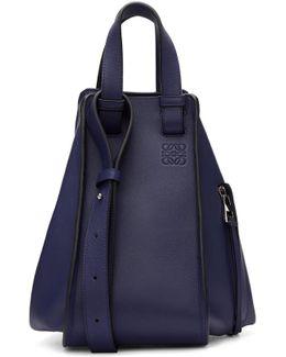 Navy Hammock Bag