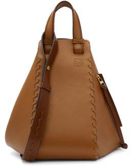 Tan Laced Hammock Bag