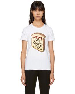 White Toast Logo T-shirt