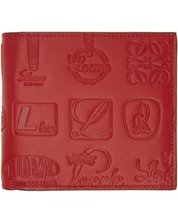 Red Signature Bifold Wallet