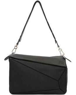 Black Xl Puzzle Bag
