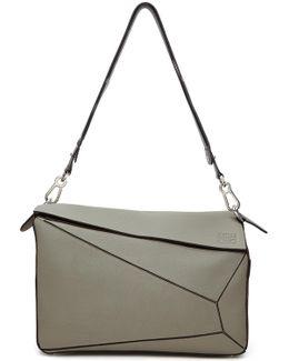 Grey Xl Puzzle Bag
