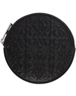 Black Cookie Coin Pouch
