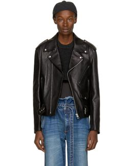 Black Street Journal Biker Jacket