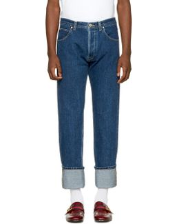 Indigo Stonewashed Jeans