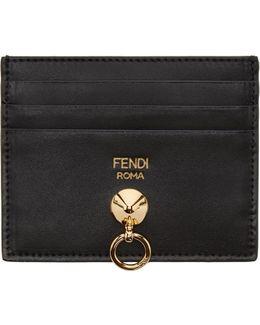 Black Hardware Card Holder